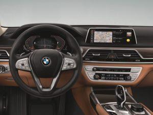 7er BMW lang Interieur