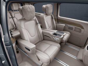 Mercedes-Benz VKlasse Interieur
